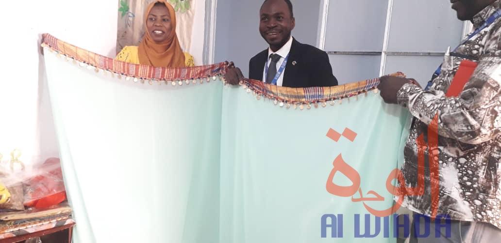 Tchad : le voile confectionné localement, une réalité avec Sister's Designs. © Djibrine Haïdar/Alwihda Info