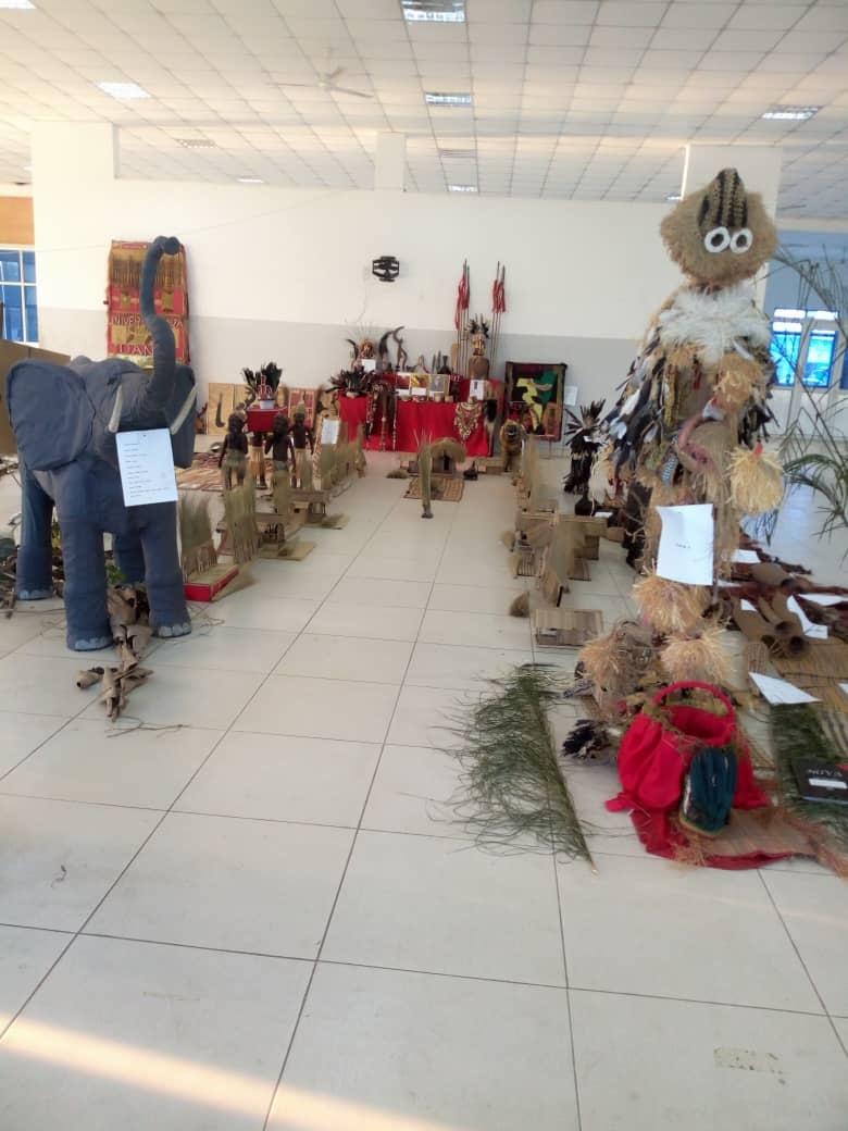 L'exposition de Daniel Isaac et Keim Oboura.