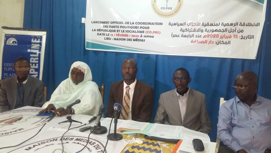 Tchad : le CO.PRS, une nouvelle alliance de partis politiques de la majorité. © Mahamat Abdramane Ali Kitire/Alwihda Info
