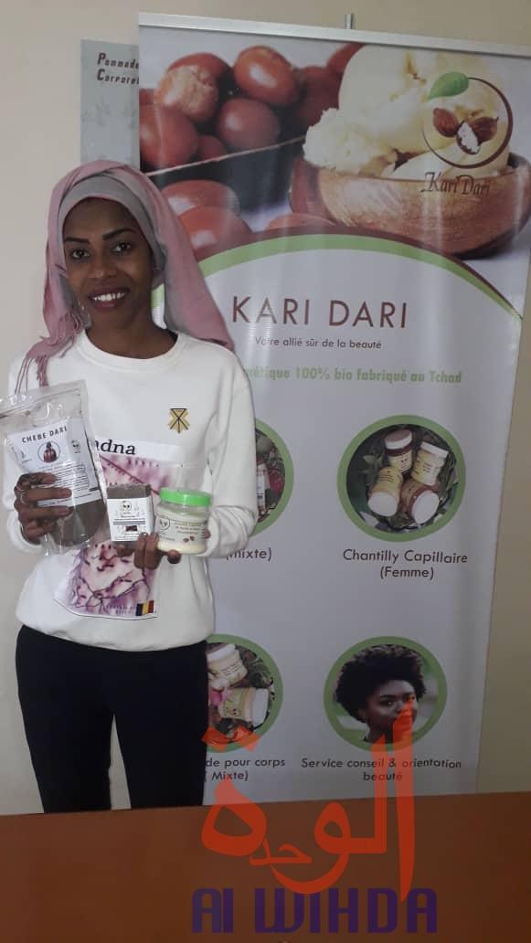 Tchad : Kari Dari, la startup qui mise sur les cosmétiques naturels. © Djibrine Haïdar/Alwihda Info