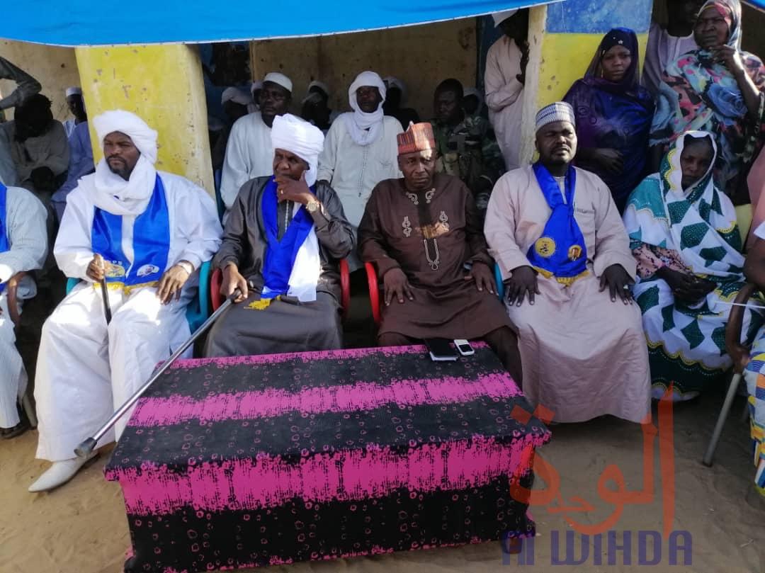 Tchad : une délégation du MPS en mission à l'Est auprès de la population. © Mahamat Issa Gadaya/Alwihda Info
