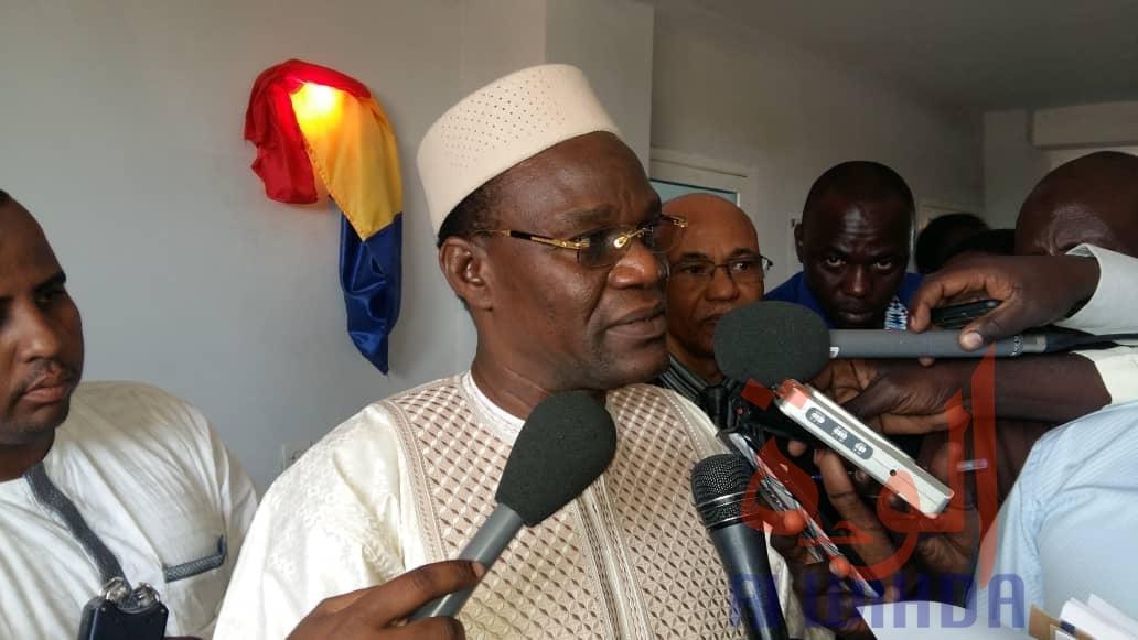 Le ministre tchadien de la justice, chargé des droits humains, Djimet Arabi. ©Mahamat Abdramane/Alwihda Info