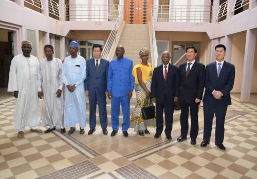 Tchad : le Gouvernement et la CNPC font le point sur leur coopération. © PR