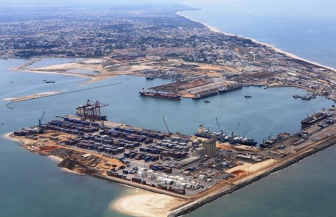 Une vue du port autonome de Pointe-Noire. © DR