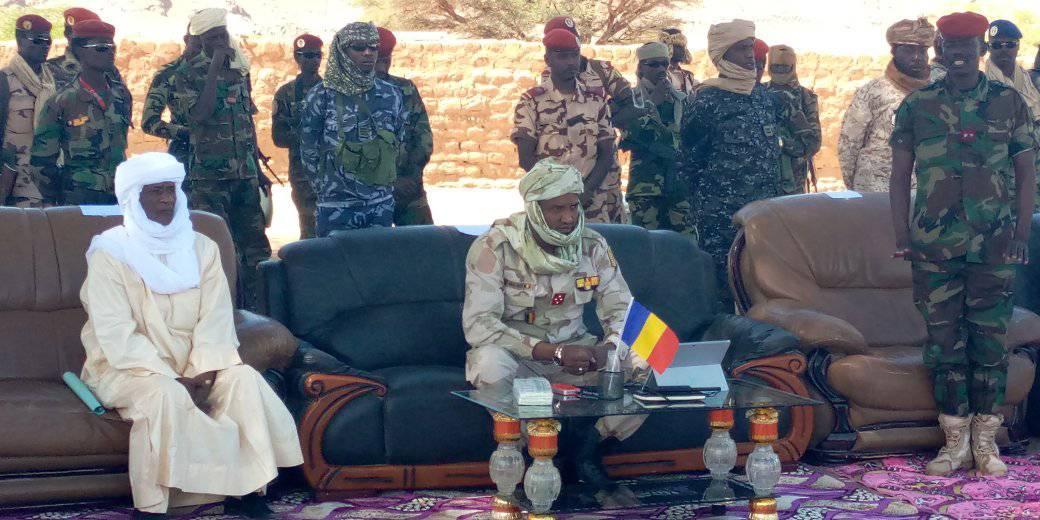 Le ministre délégué à la Présidence, chargé de la défense nationale, des anciens combattants et victimes de guerre, le général de corps d'armée Mahamat Abali Salah. © Min. défense