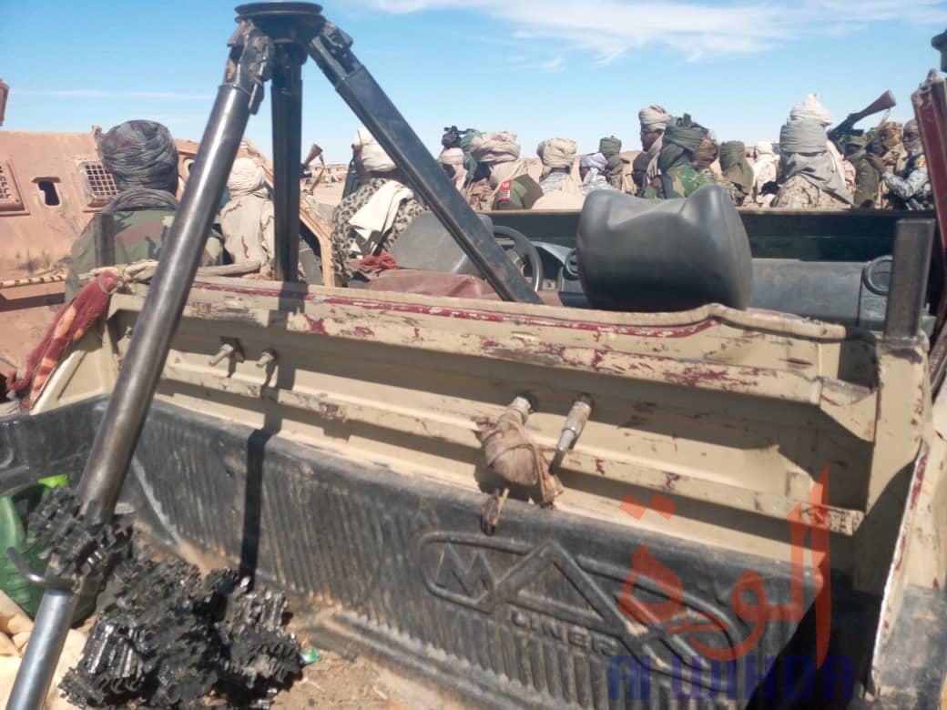 Tchad : de nombreuses armes lourdes saisies par l'armée au Tibesti. © Alwihda Info