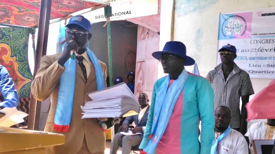 Tchad : un nouveau président à la tête du parti MERCI. © Malick Mahamat/Alwihda Info