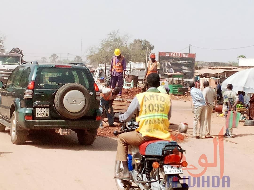 Tchad : salubrité, sécurité, Moundou se prépare pour l'arrivée de Déby. © Golmen Ali/Alwihda Info