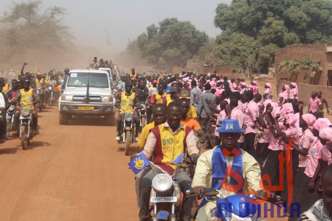 Une délégation gouvernementale est arrivée mercredi 26 février 2020 à Pala, au Tchad. © Malick Mahamat/Alwihda Info