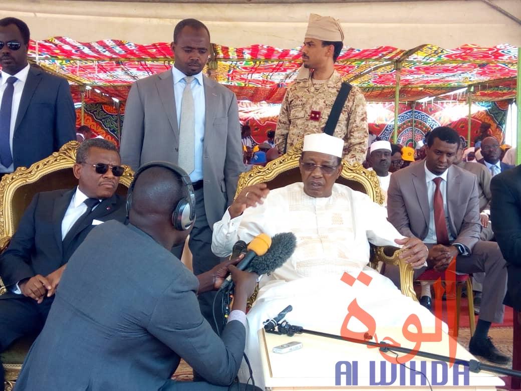 Tchad : le président Déby et le Premier ministre camerounais à Bongor