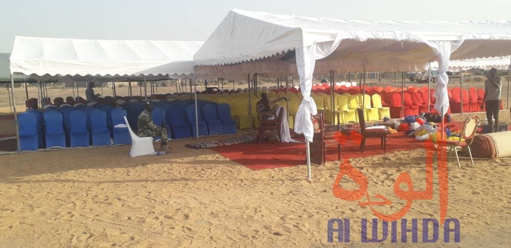Tchad : lancement du PADLFIT à Laï, les précisions du ministre de l'Economie. © Djibrine Haïdar/Alwihda Info