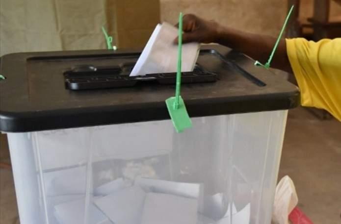 Un bureau de vote au Togo. © DR