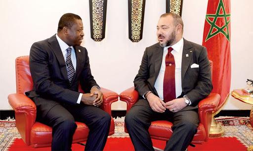 Le Roi Mohammed VI du Maroc félicite Faure Gnassingbe pour sa brillante réélection. Illustration. ©. DR/Amb.Togo au Maroc