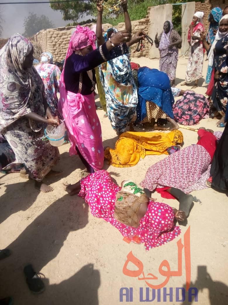 Tchad : situation tendue à Abéché, tentative de déguerpissement de la famille Ourada. © DR