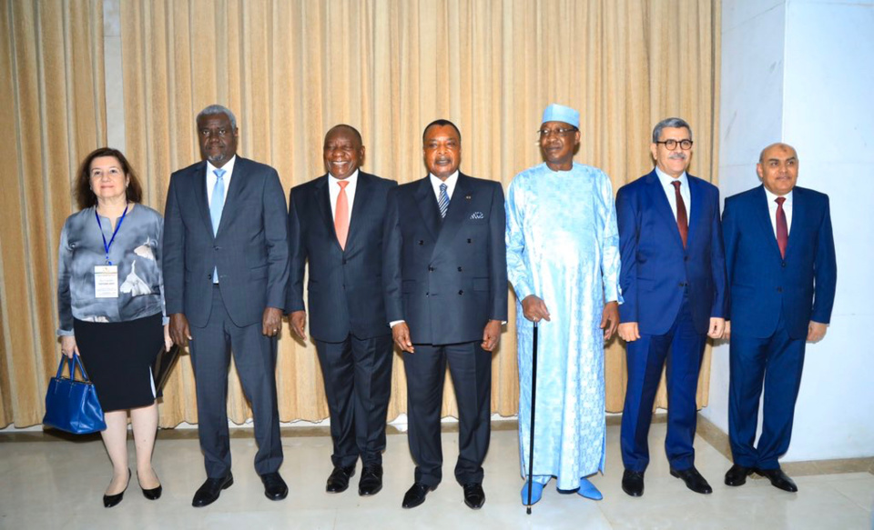 Crise libyenne : le président tchadien au Congo. © DR/MF/UA
