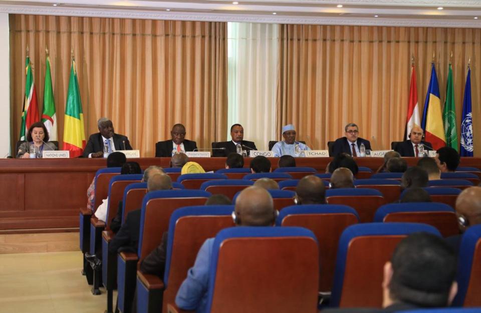 """Idriss Déby : """"La balkanisation de la Libye est un risque que nous voyons venir"""". © DR"""