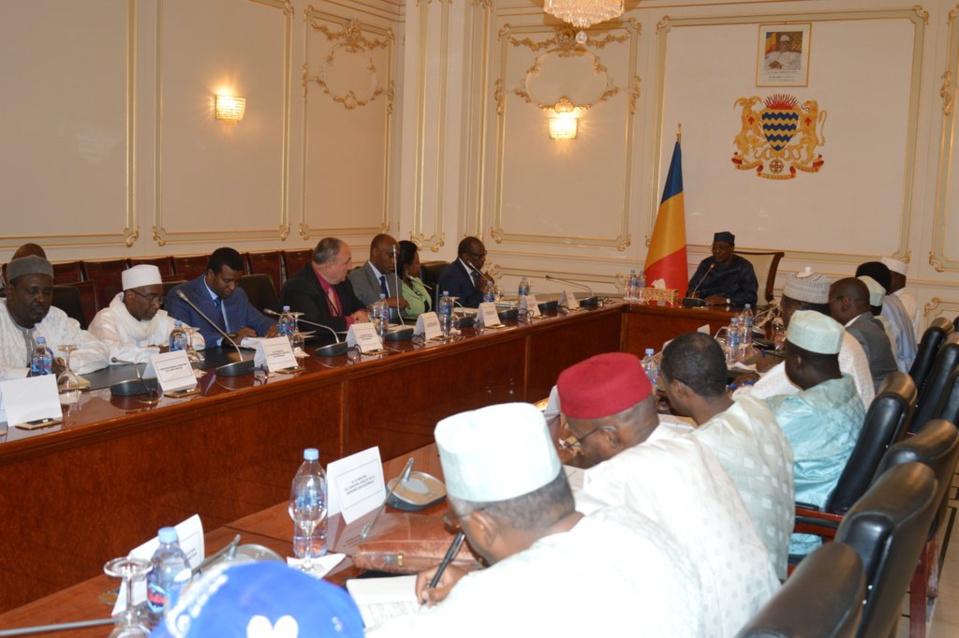 """Le coronavirus """"n'a pas encore franchit les frontières tchadiennes"""" (Idriss Déby). © PR"""