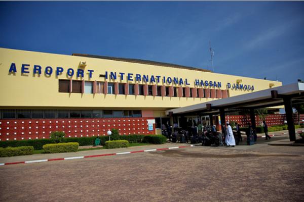 L'aéroport international de N'Djamena. © DR
