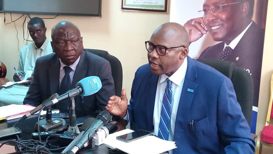 Le représentant de l'OMS au Tchad, Dr. Jean Bosco Ndihokubwayo. © DR/MSP