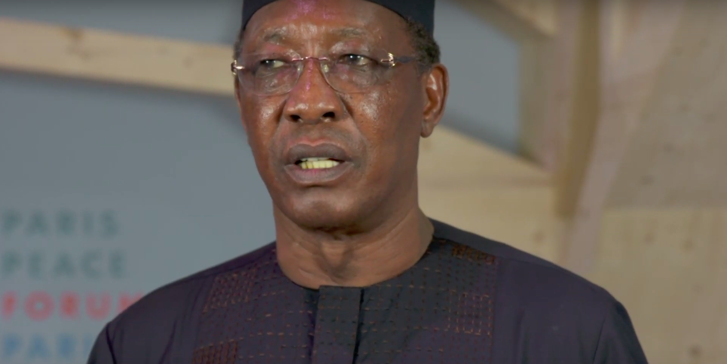 Le chef de l'Etat Idriss Déby. © DR