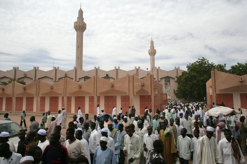 La grande mosquée de N'Djamena. © Alwihda Info