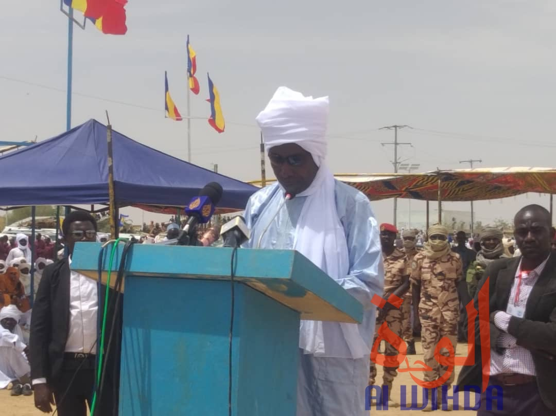 Le gouverneur de la province du Ouaddaï, Ramadan Erdebou. © Abba Issa/Alwihda Info