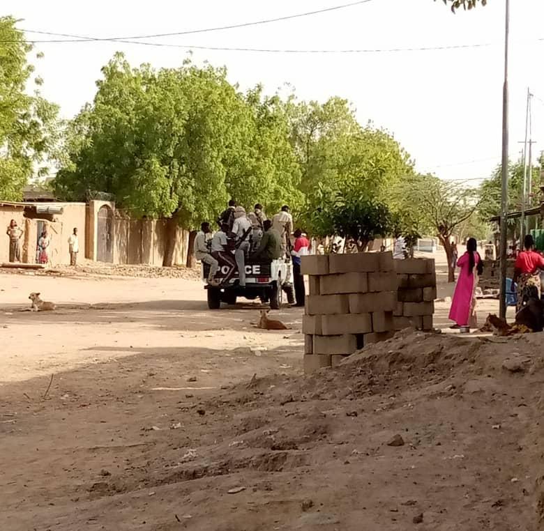 Le quartier Amtoukoui à N'Djamena. © Kelvin Mendig-lembaye/Alwihda Info