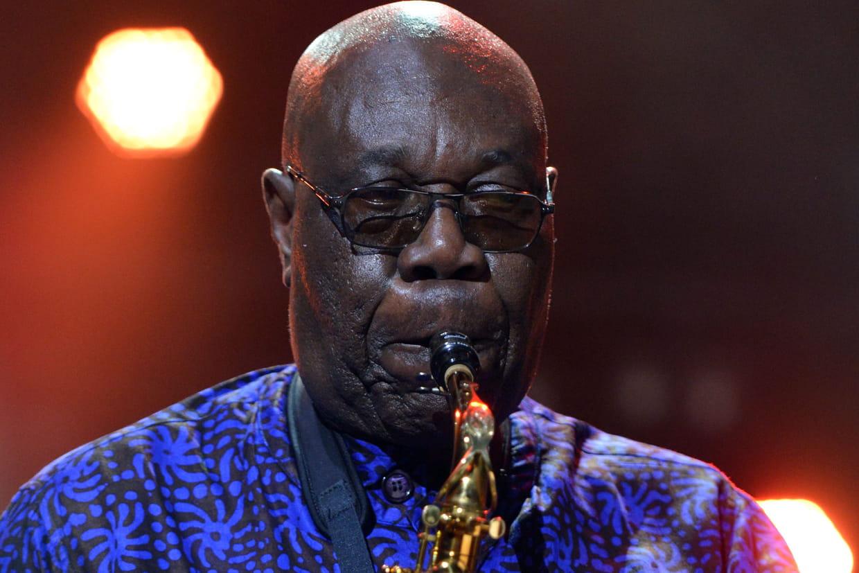 Coronavirus : mort du saxophoniste Manu Dibango. © ALLILI MOURAD/SIPA