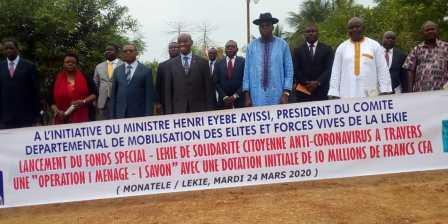 Cette action citoyenne est en droite ligne de l'appel lancé par le président Paul Biya, pour barrer la voie à la propagation du coronavirus : « Ensemble, avec civisme et responsabilité ».
