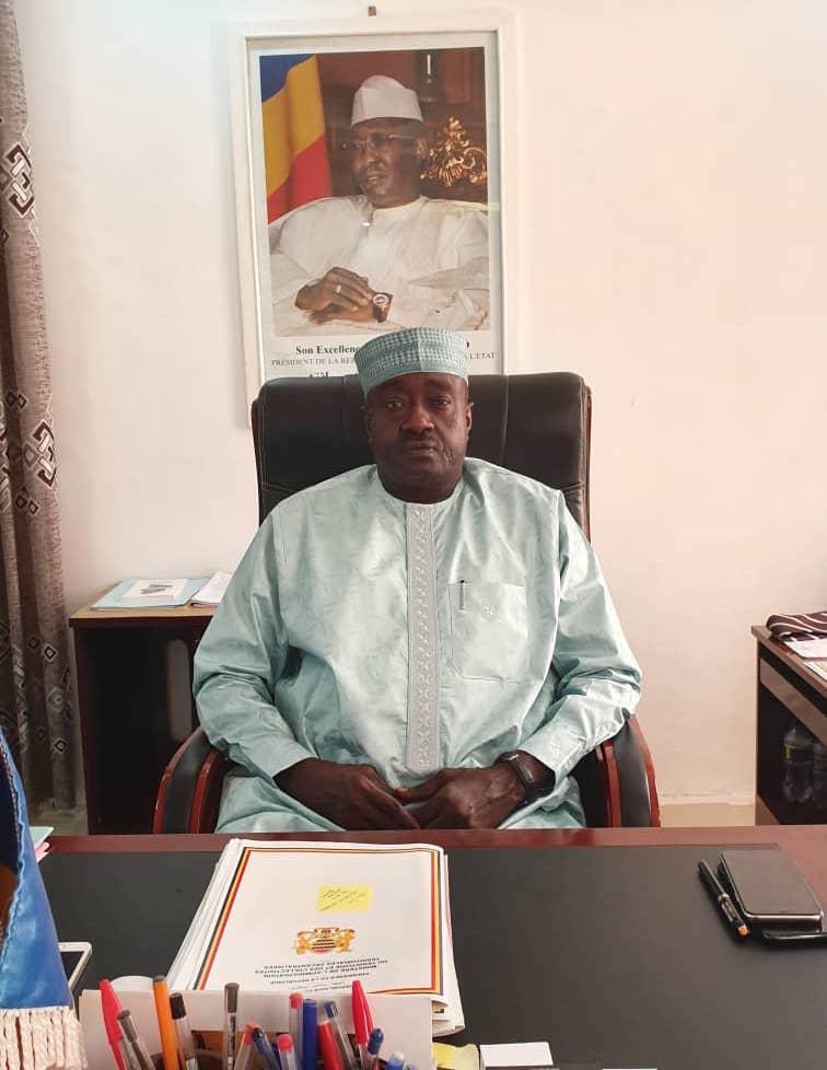 Le ministre de l'Administration du territoire et des Collectivités territoriales décentralisées, Mahamat Ismail Chaibo. © Alwihda Info