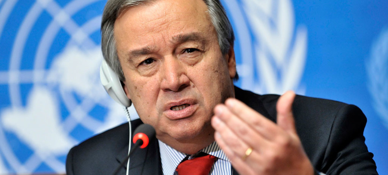 Le Secrétaire général des Nations Unies, António Guterres. © ONU/Jean-Marc Ferré