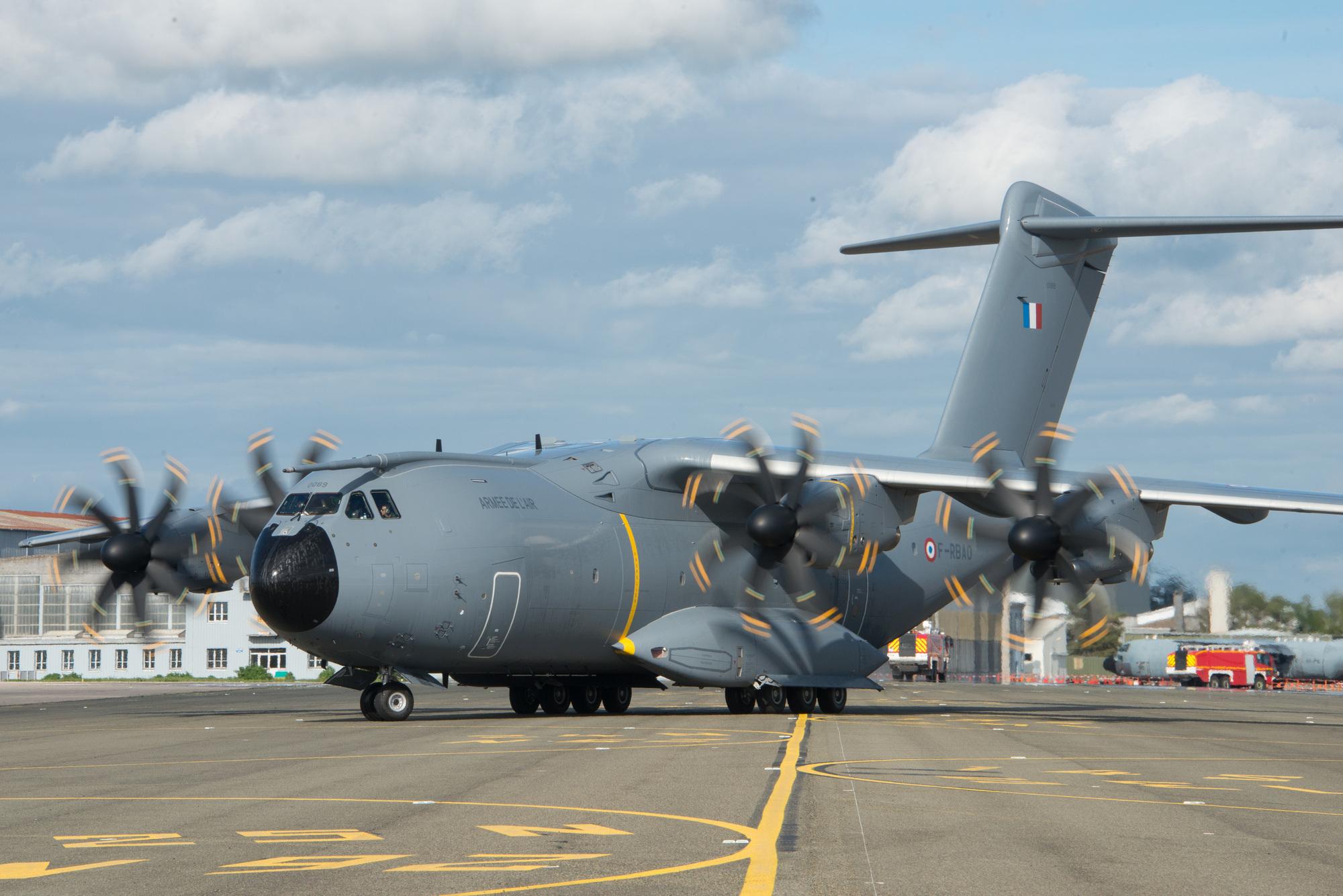 Un avion militaire français. Droits : © Armée de l'air/France