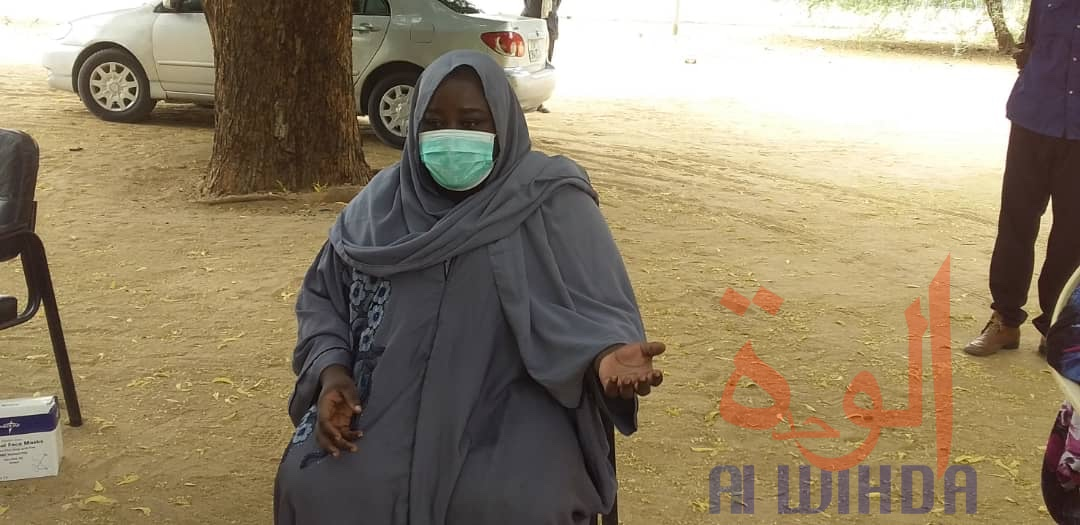 Tchad - Covid-19 : à Ati, les commerçantes s'imprègnent des mesures barrières. © Hassan Djidda Hassan/Alwihda Info