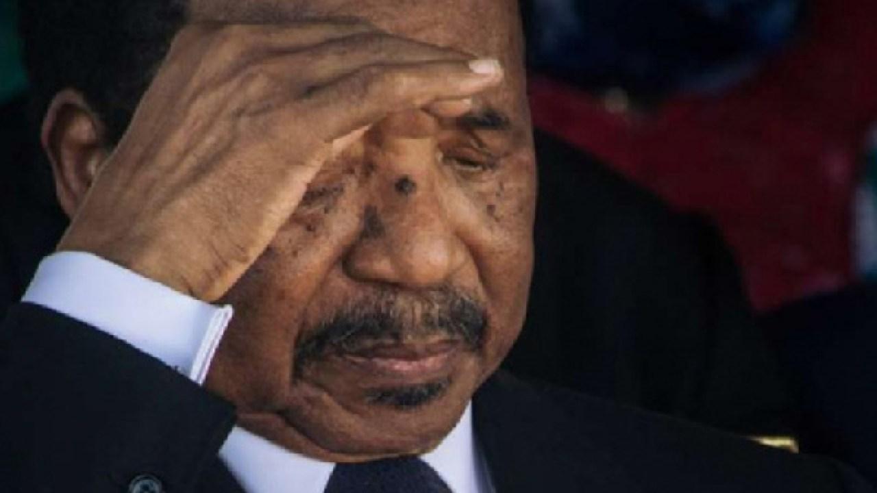 Le président camerounais Paul Biya. © DR
