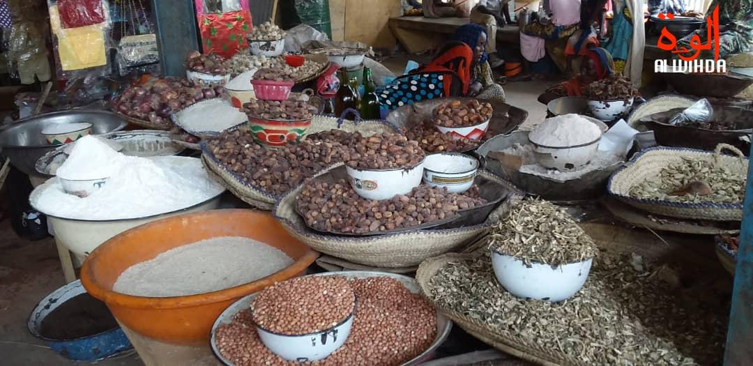 Le marché d'Ati. © Hassan Djidda Hassan/Alwihda Info