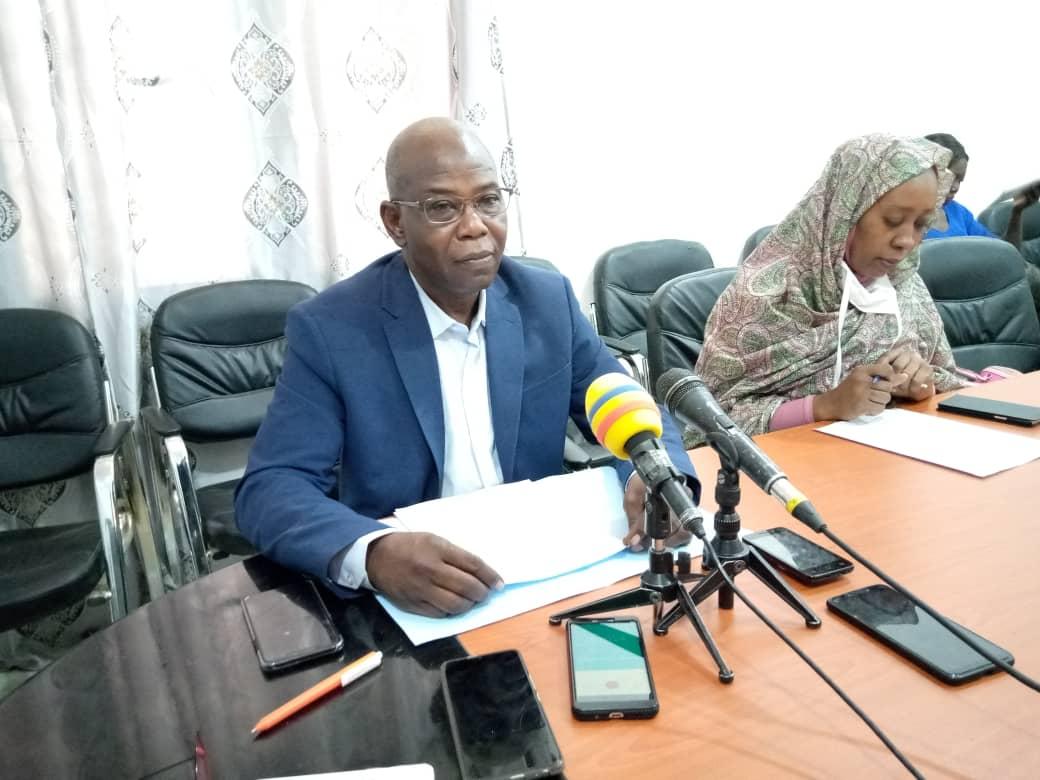 Le président de la Ligue tchadienne pour la lutte contre le cancer (LTCC), Dr Manikassé Palouma. © Kelvin Mendig-lembaye Djetoyo/Alwihda Info
