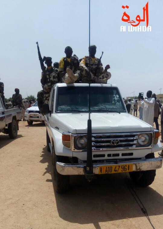 Un véhicule de l'armée tchadienne. © Alwihda Info