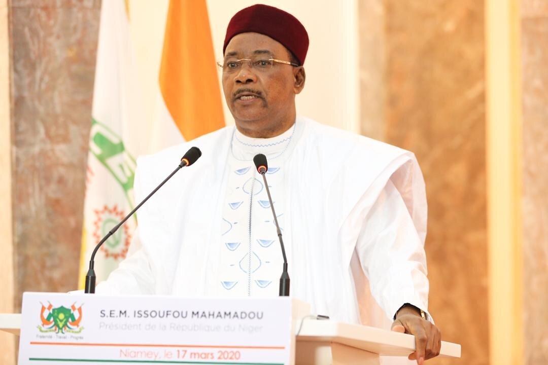 Le président de la République du Niger, Mahamadou Issoufou. © PR