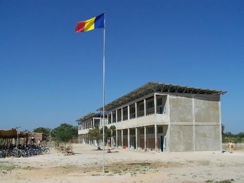 Un lycée à Kélo, Tchad © DR