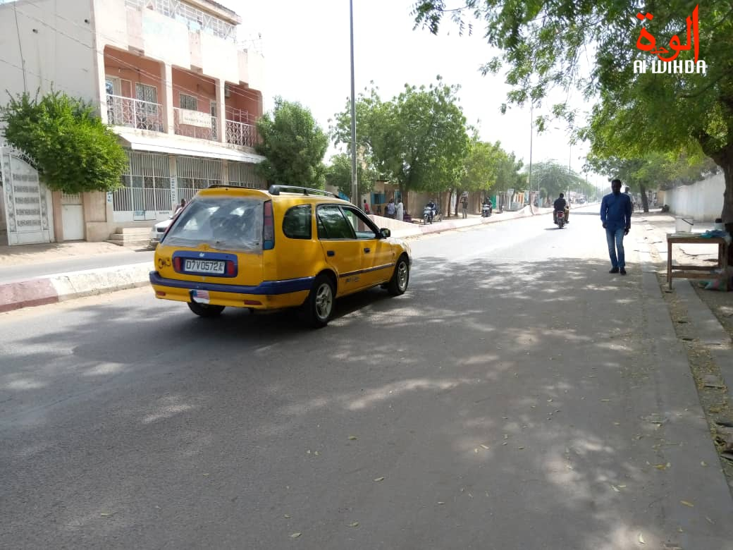 Tchad / Covid-19 : les taximan craignent le pire pour leurs affaires. © Kelvin Mendig-lembaye/Alwihda Info