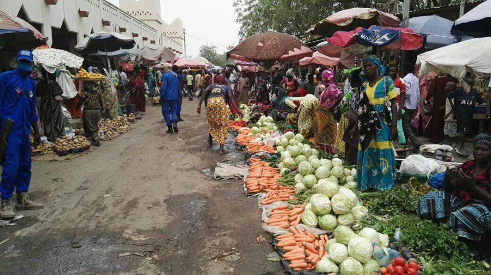 Le grand marché de N'Djamena. © Dr/Mairie NDJ