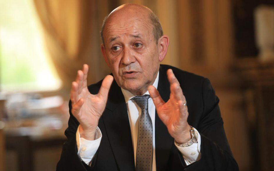 Le ministre français des Affaires étrangères Jean-Yves Le Drian. © LP/Olivier Lejeune
