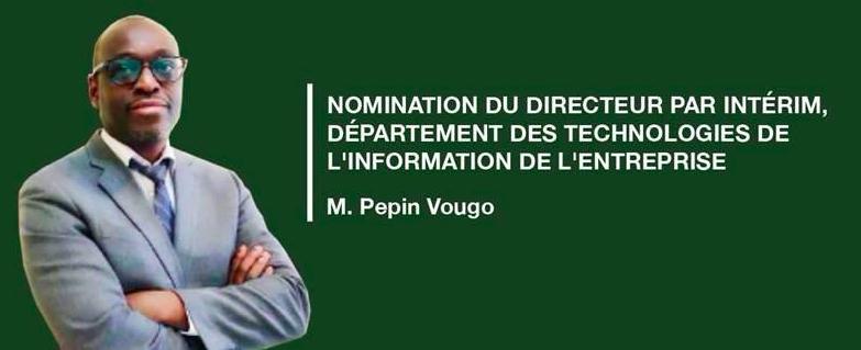 BAD : nomination du Directeur par intérim du Département des Technologies de l'Information de l'Entreprise