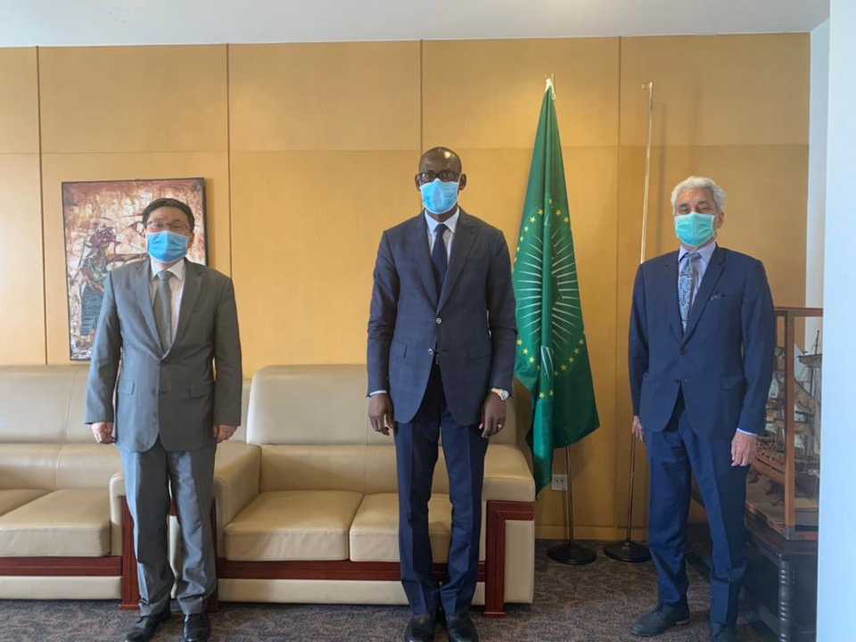 "Covid-19 - Africains ""stigmatisés"" en Chine : l'UA demande des explications. © DR"