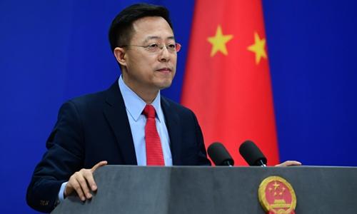 Le porte-parole du ministère chinois des Affaires étrangères, Zhao Lijian. © DR