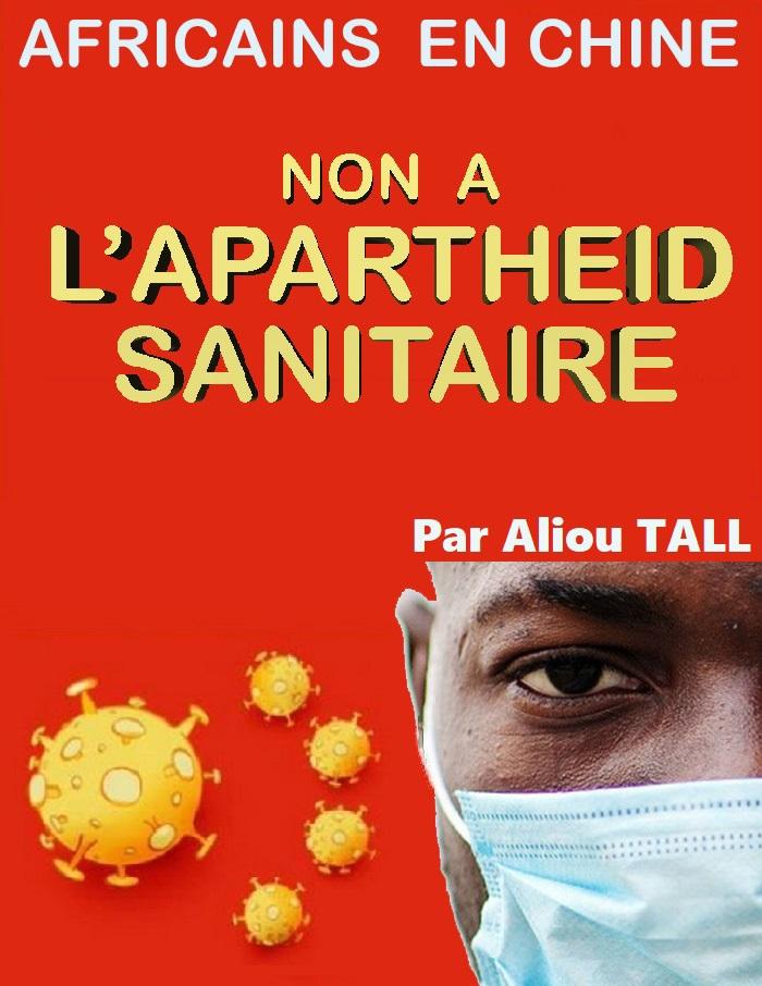 Africains en Chine : Non à l'Apartheid sanitaire.