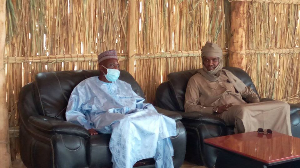 Tchad - Boko Haram : le ministre nigérien de la défense s'est rendu à Baga Sola. © Dr/Min.Défense
