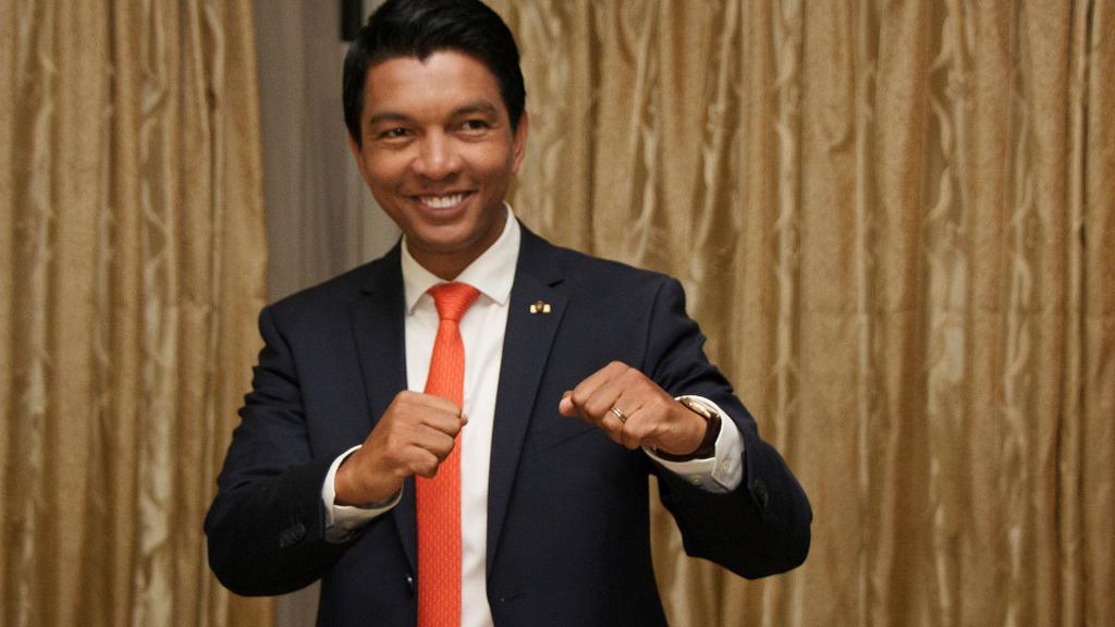 Le président malgache, Andry Rajoelina. © DR