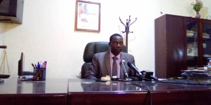 Le procureur de la République près le Tribunal de grande instance de N'Djamena, Youssouf Tom. © Mahamat Abderaman/Alwihda Info