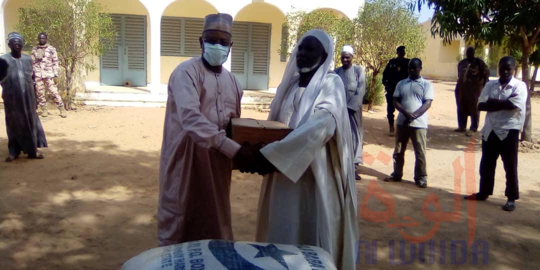 Tchad - Covid-19 : à Pala, le comité des affaires islamiques apporte sa contribution. © Foka Mapagne/Alwihda Info